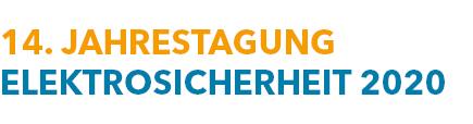 Logo 14. Jahrestagung Elektrosicherheit 2020